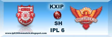 KXIP vs SRH Highlight Match Video and Live Streaming Video