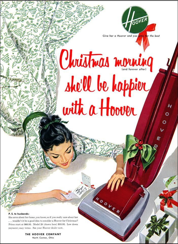 thunder echo blog every girl will be happier with a hoover - What Every Girl Wants For Christmas
