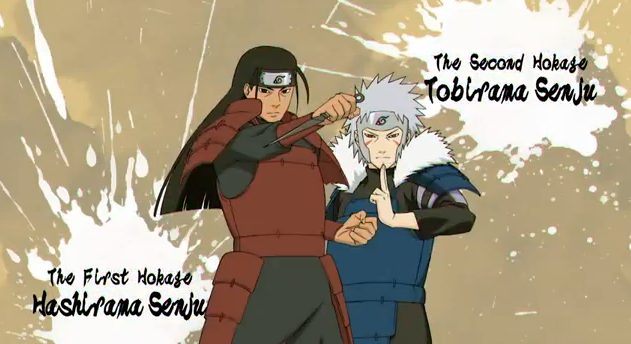 Naruto Shippuden Ultimate Ninja Storm Generations Playable Characters The First Hokage Hashirama Senju and The Second Hokage Tobirama Senju