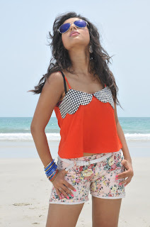 Pamela South Telugu Actress Stunning Song Stills