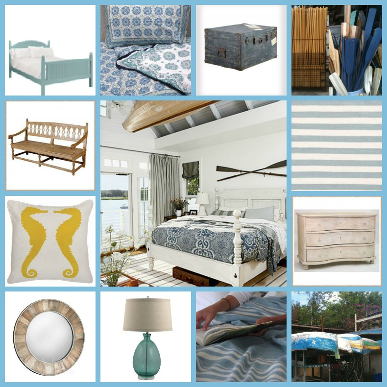 coastal Bedroom, shopping guide