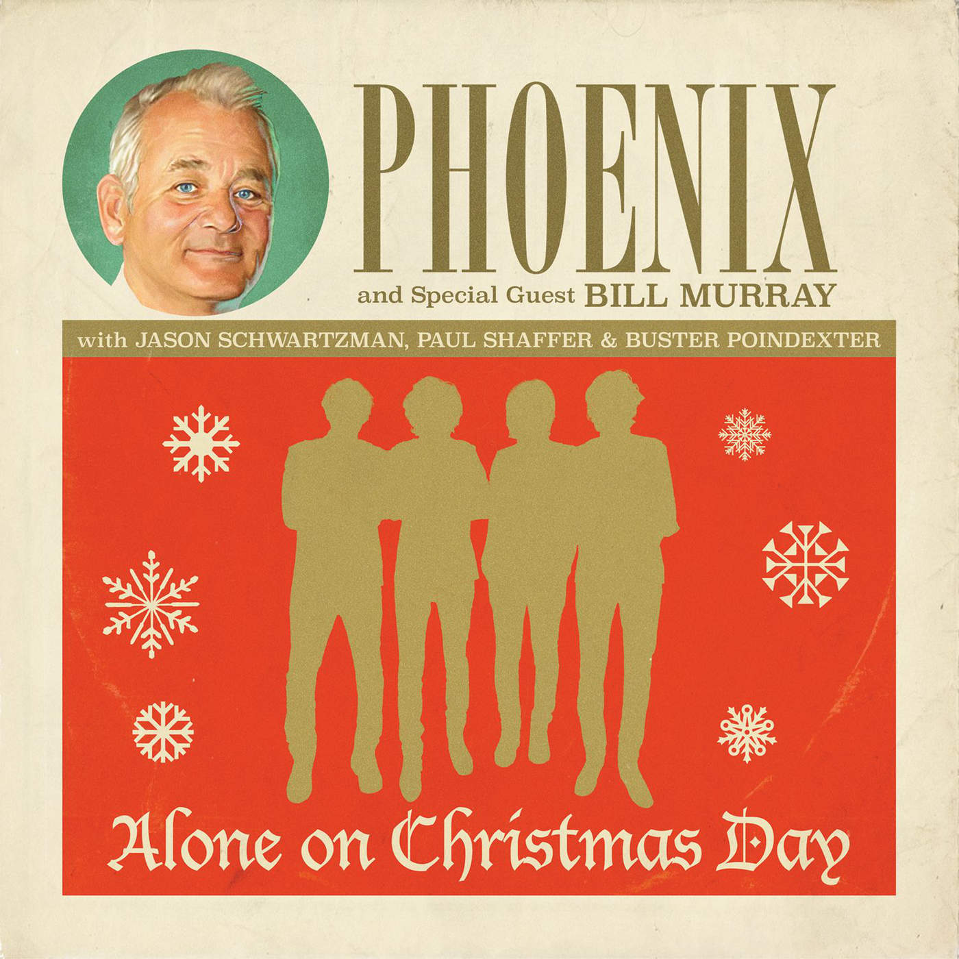 Phoenix - Alone on Christmas Day - Single Cover