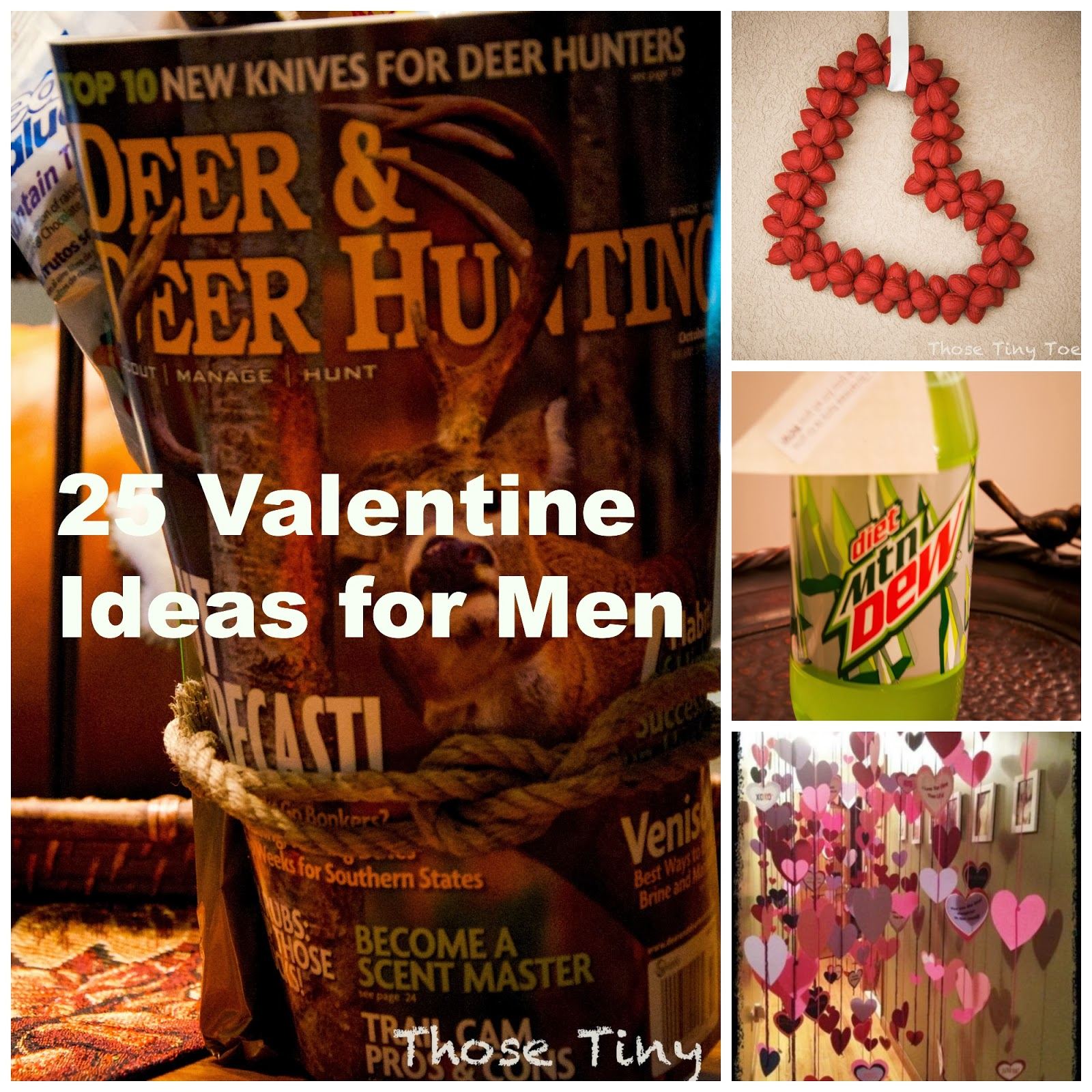 Those tiny toes over 25 valentine ideas for men Valentines day ideas for men