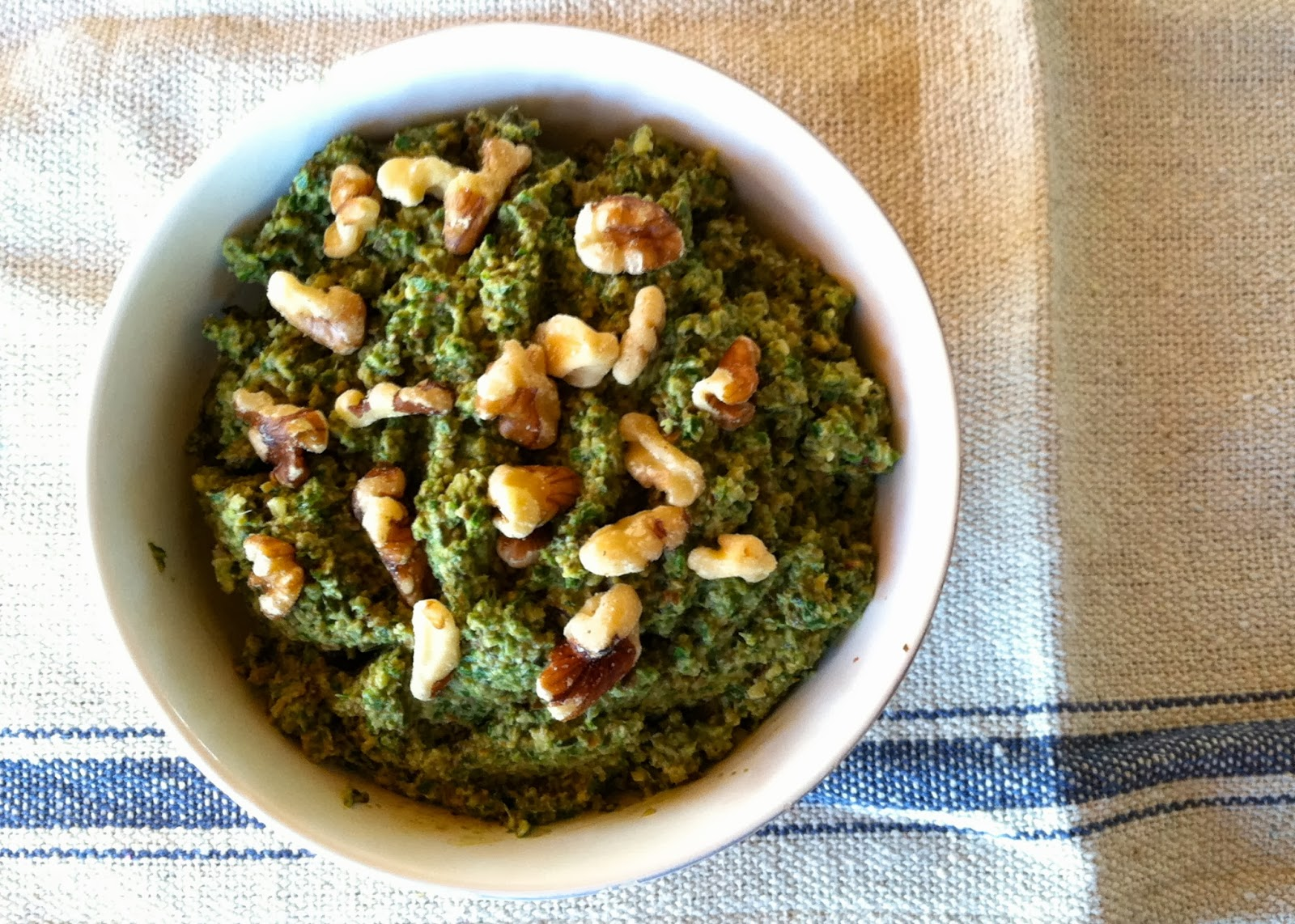 Positively Vegan: Basil Pesto