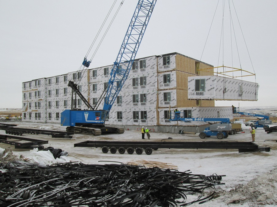 What Is Modular Construction building a hotel? choose modular construction