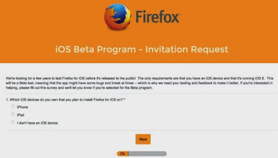 Firefox untuk iOS