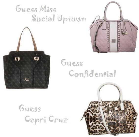 Ensimmmäinen vaihtoehtoni on Guessin laukku. Nää mitä oon katsellut netistä  ja Guessin liikkeistä on ollut c0228c93e7