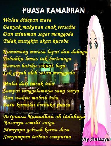 Kumpulan Puisi Untuk Bulan Suci Ramadhan