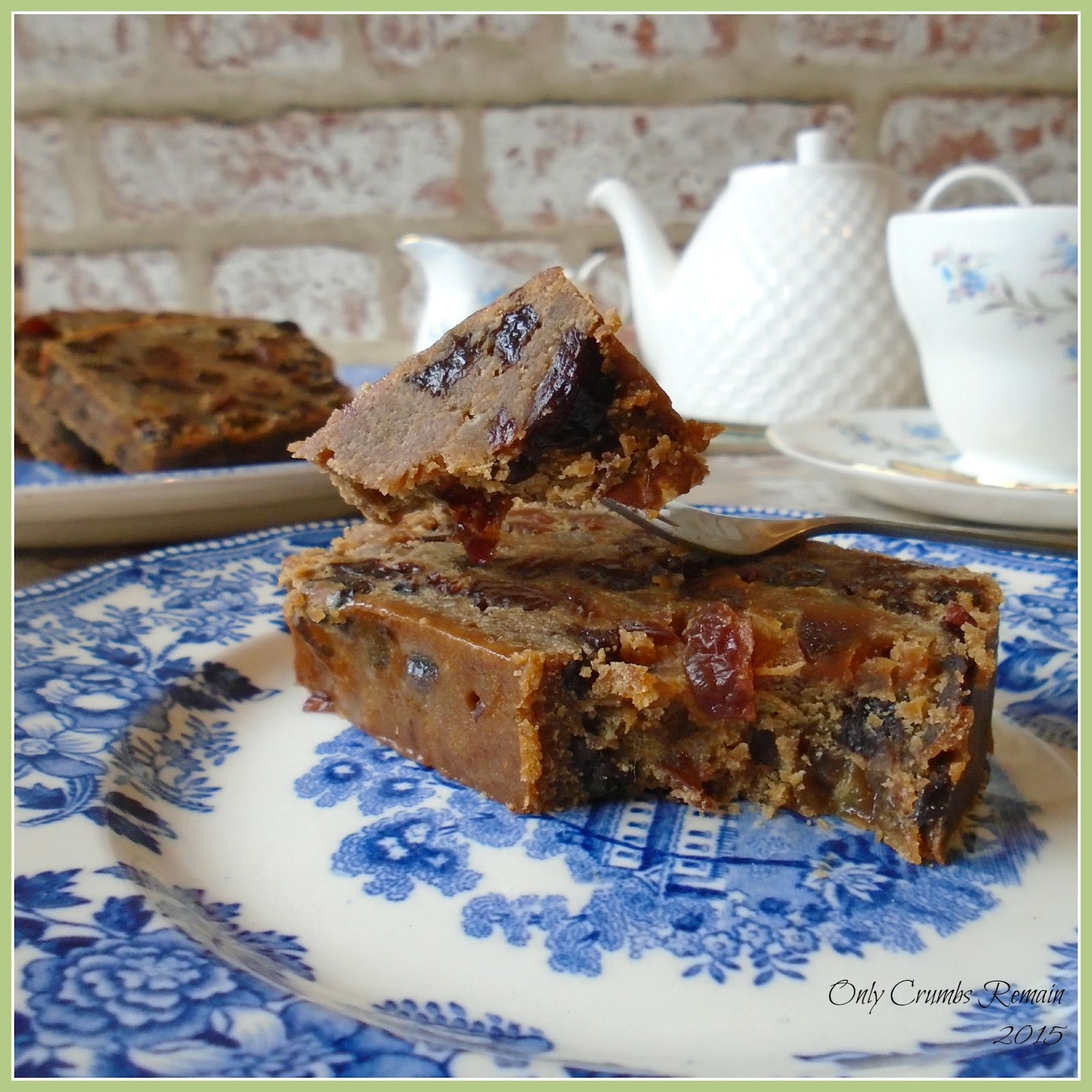 ly Crumbs Remain Rich Fruit Cake