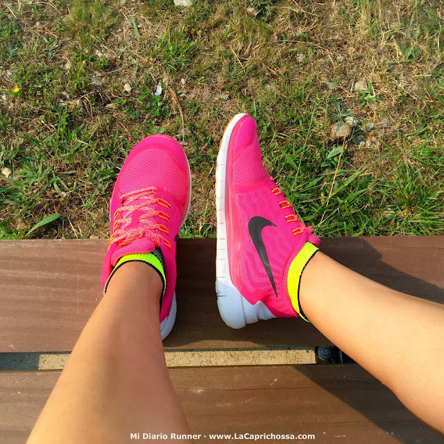 Nike Free 5.0 Rosa, Mi Diario Runner, La Caprichossa, blog de moda, running