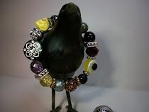 Goth Mystic Skull Bracelet