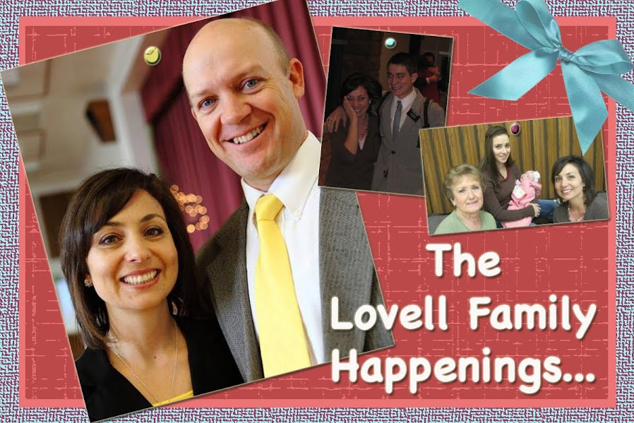 The Lovell Family Happenings