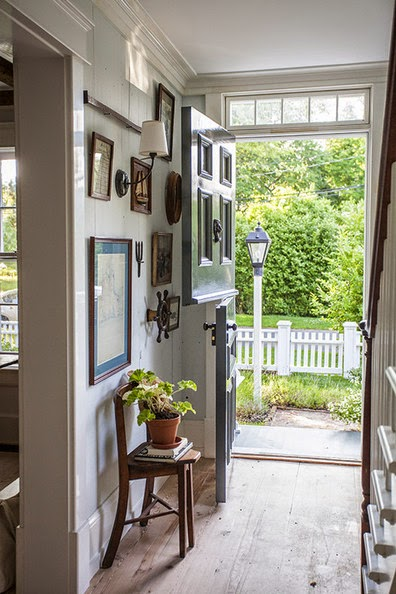 Nautical Entry Gallery Wall