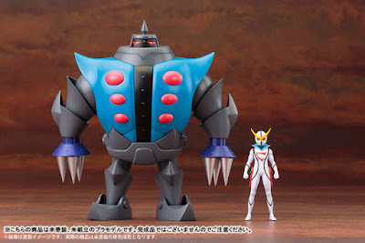 Tsume-Robot e Kyashan della Kotobukiya