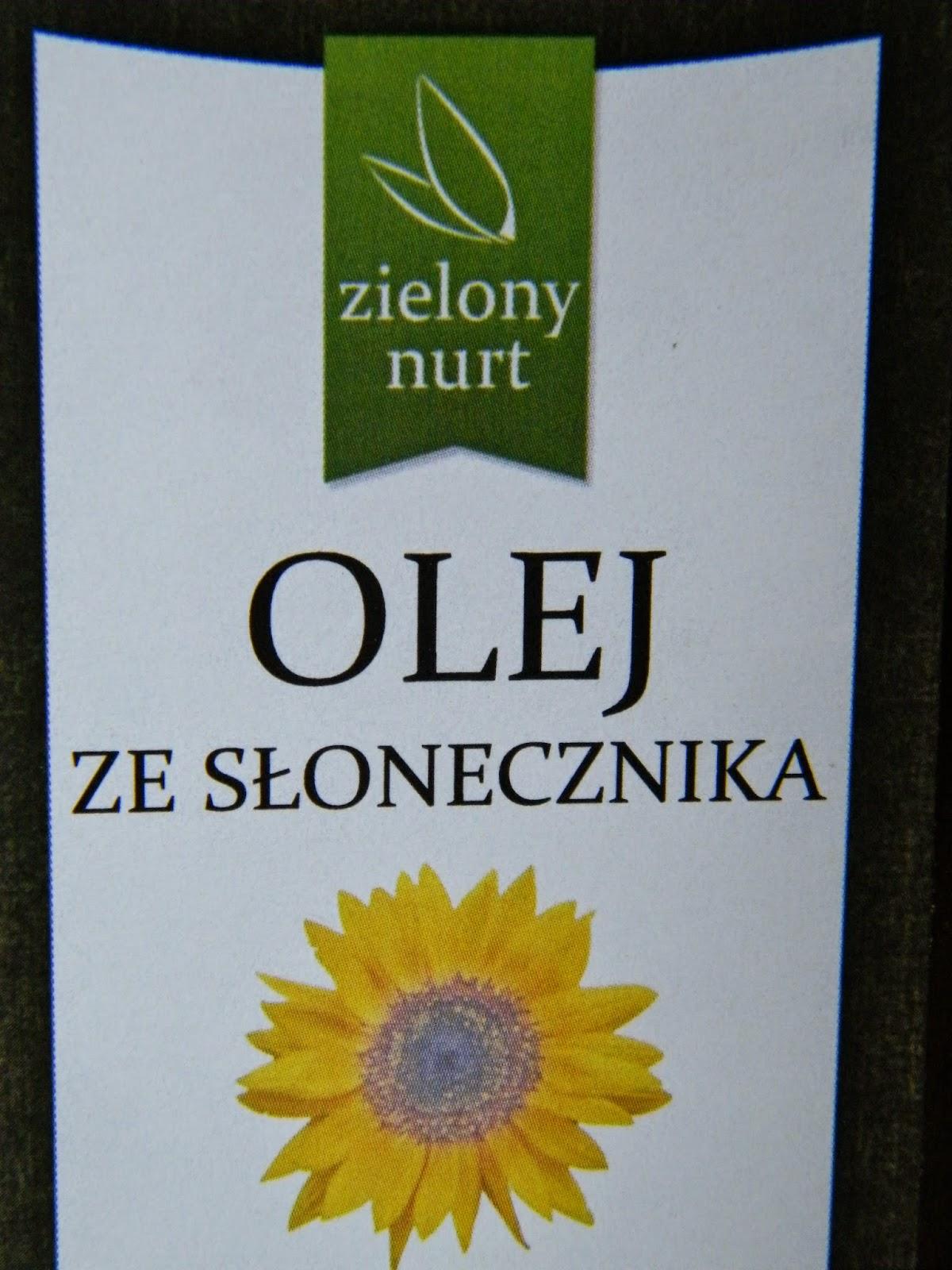 Olej ze słonecznika - Zielony Nurt