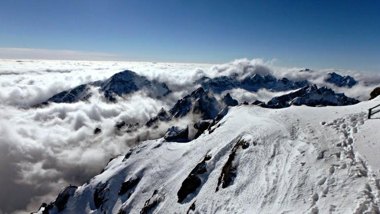 Lomnický štít in Slovakia High Tatras