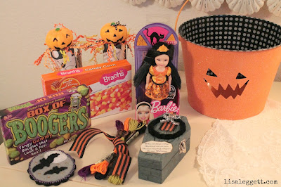 Trick or Treat Swap package by Lisa Leggett