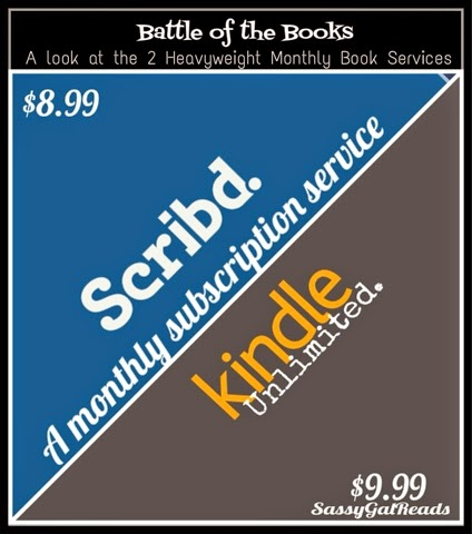 Scrib'd versus Amazon Kindle Unlimited