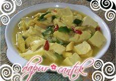 Gambar Resep Masakan Tumis Pedas Tahu Putren Dapur Cantik