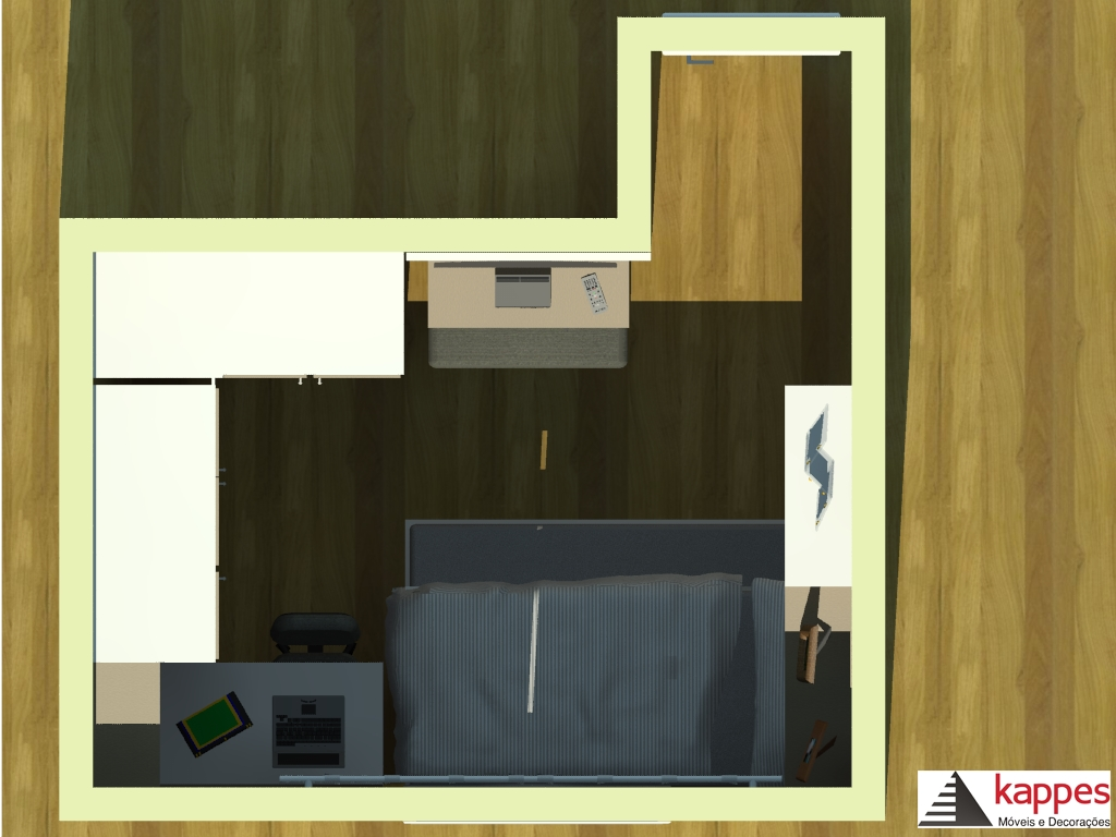 Rimo Modulados ~ Dormitório Cliente Eliane Rabin Modulados Rimo Papo de móveis
