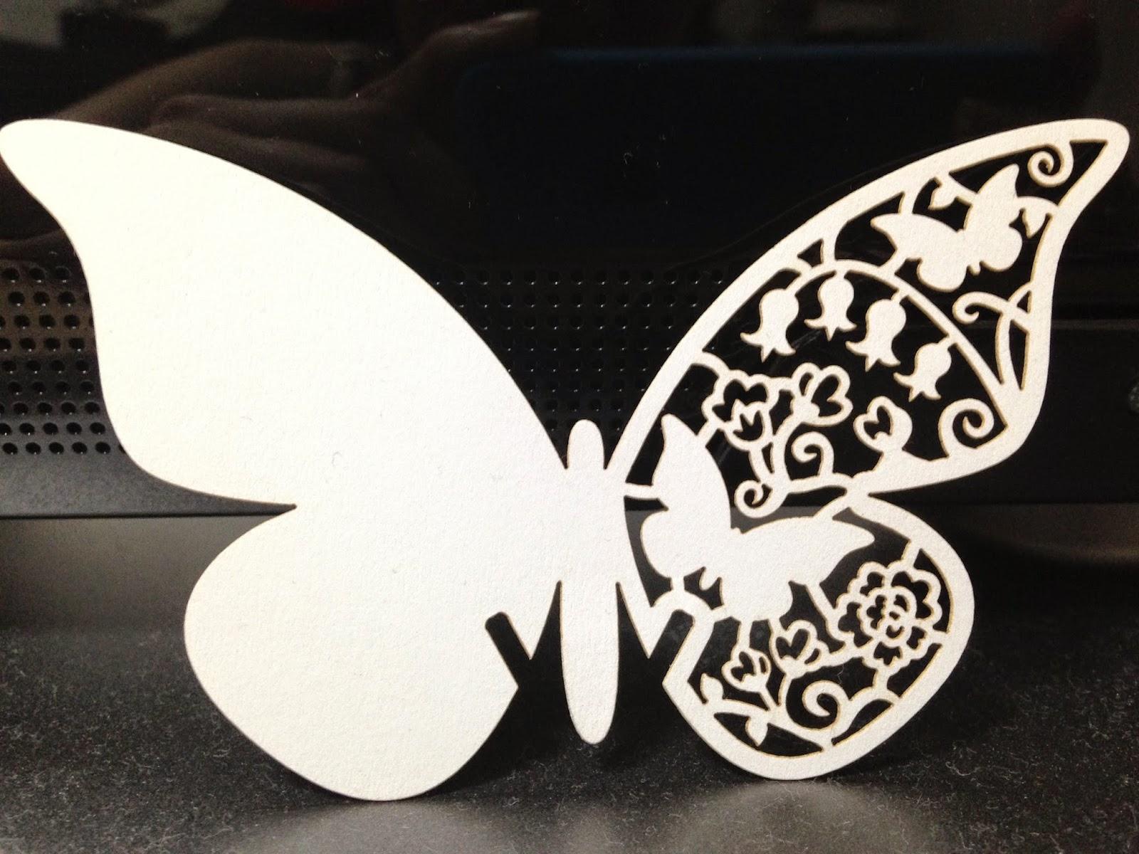 cutout butterfly