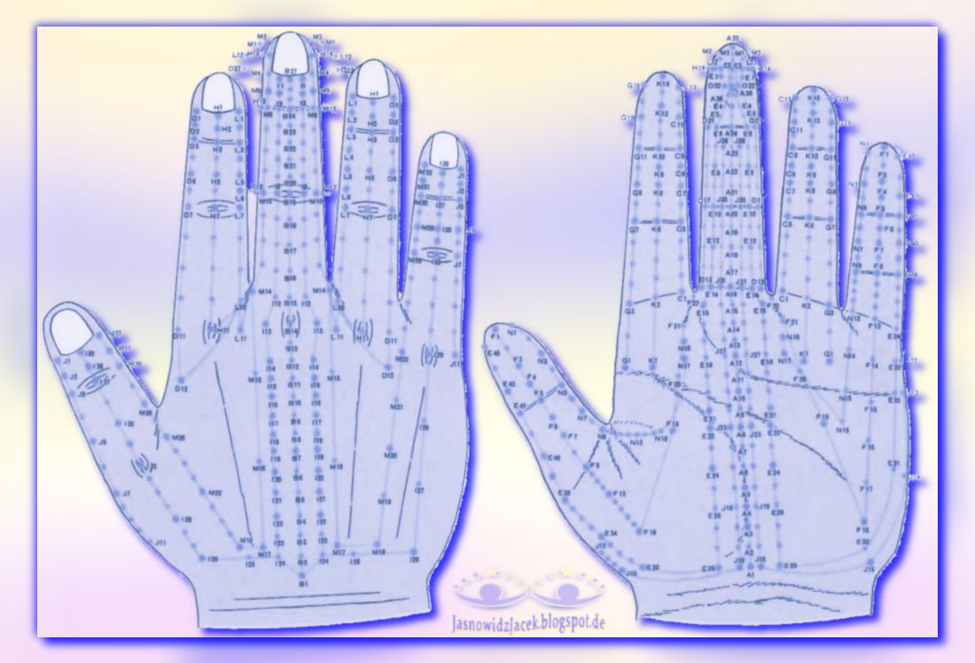 MikroMeridiany dłoń
