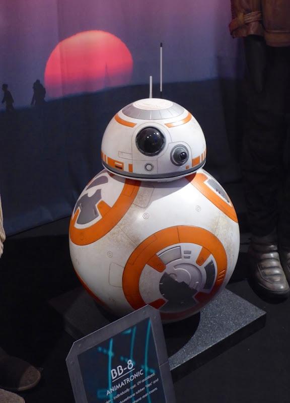 Star Wars Force Awakens BB-8 animatronic