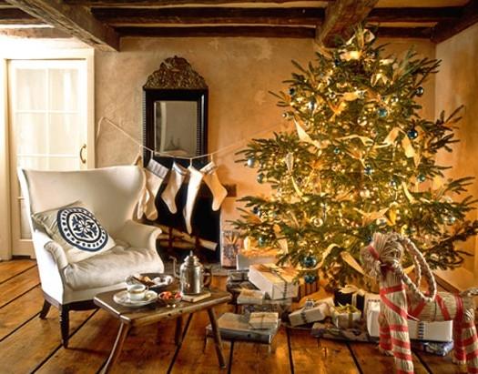 Χριστουγεννιάτικη διακόσμηση σε