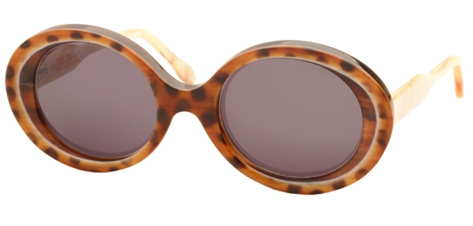 Morgenthal Frederics 25th anniversary limited edition buffalo horn Flange glasses