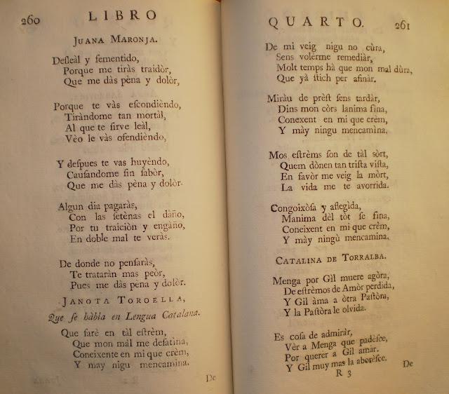 Blog de bibliofilia pineda en londres - Amor en catalan ...