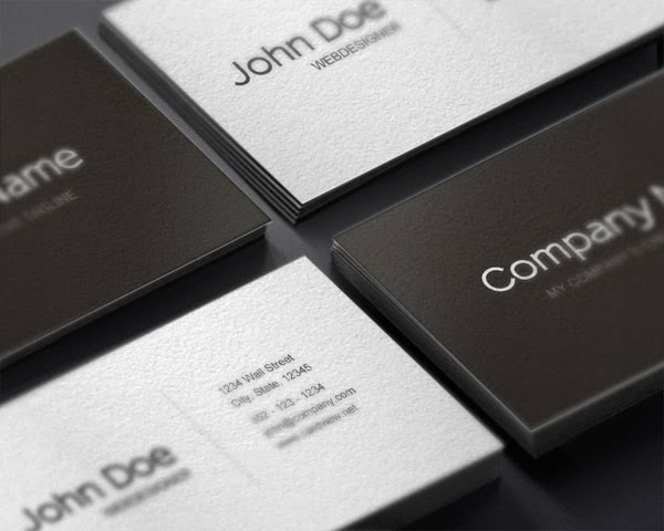 25 free and high quality business card templates for 2014 jayce o business card template fbccfo Choice Image