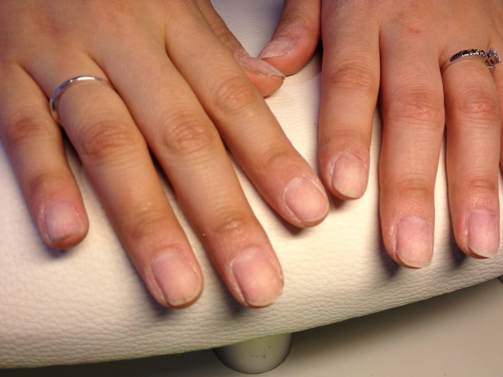 uv gel naglar steg för steg