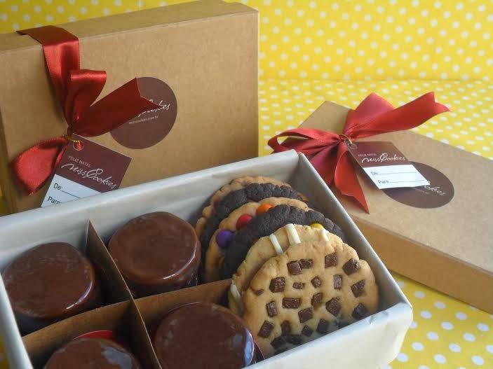 Miss Cookies: Kit de Biscoitos Recheados
