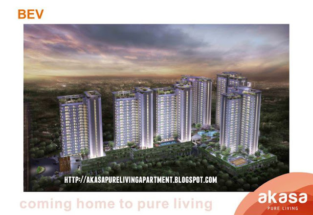 Akasa Pure Living Apartment BSD City