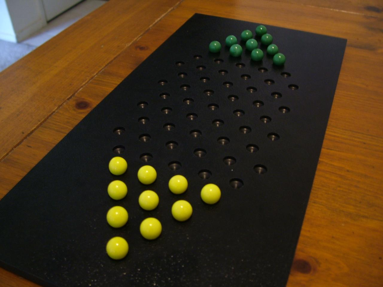 The Life of Kenneth: Two Player Chinese Checkers Board