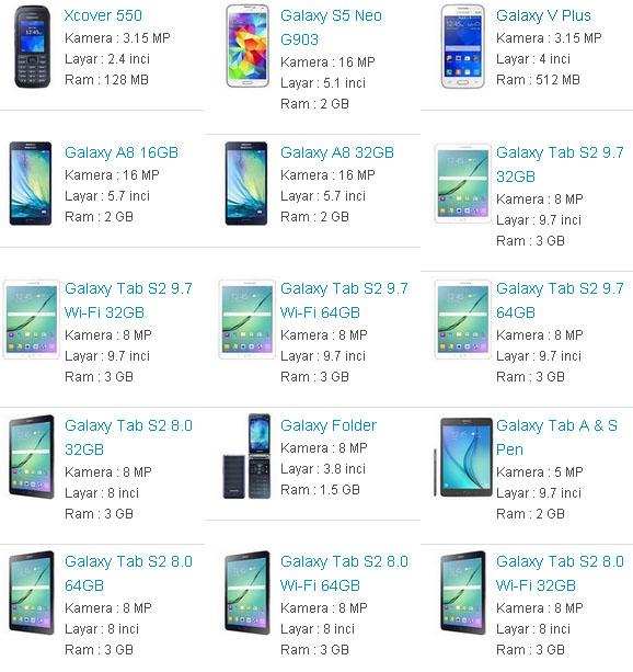 Daftar Harga Hp Samsung Android Terbaru 2016 Berita Pendidikan