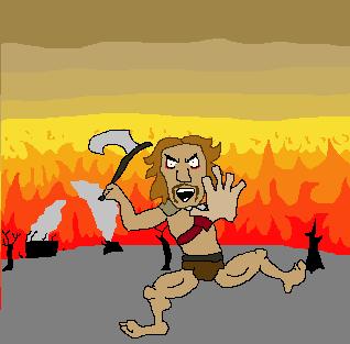 barbaro raivoso