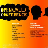 8/10/2016 Open Walls Conference 2016 / Nau Bostik / Barcelona 2016
