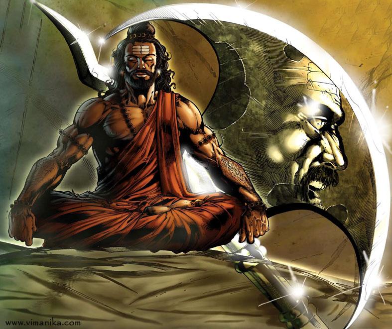 Hindu Poster Art