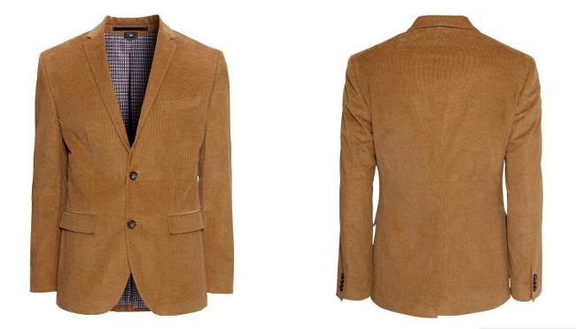 blazer marron H&M otoño 2013