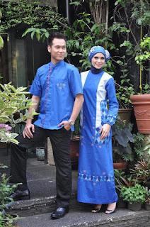 baju batik lebaran sarimbit