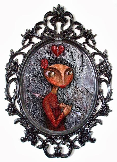 Alberto Poucelle ilustrador illustration gothic