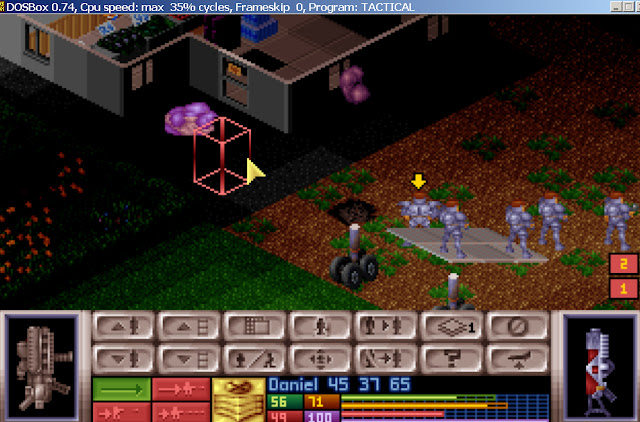 UFO: Enemy Unknown - Muton Pets Celatid and Silacoid Screenshot
