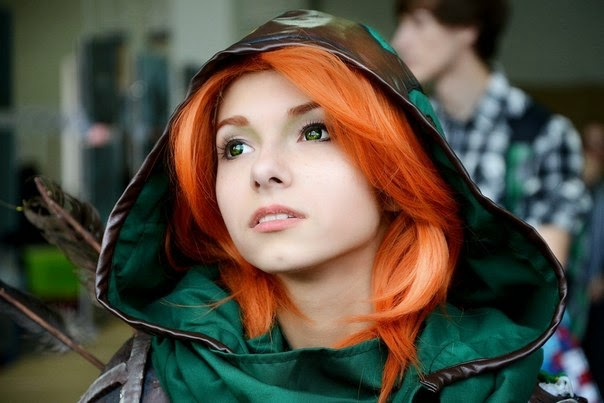 Dota 2 Cosplay Wind Rangger - Tasya Starkova