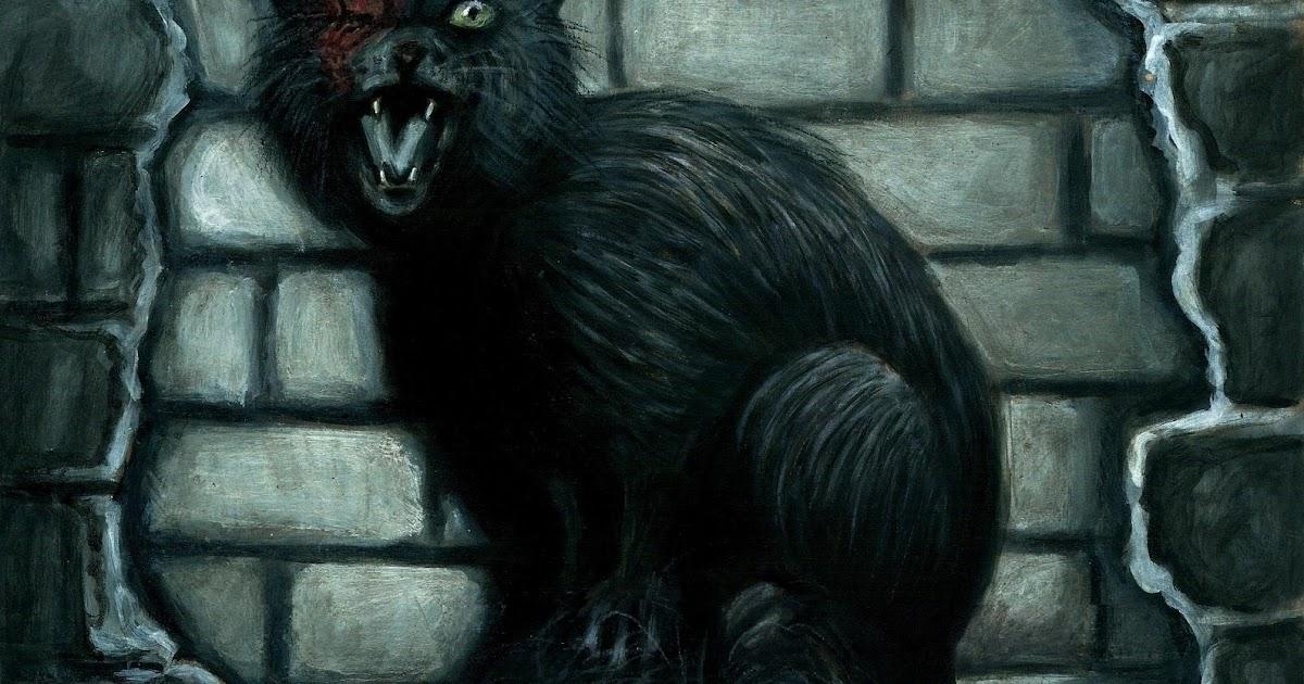 Fangirleando libros opini n el gato negro de edgar allan poe - El gato negro decoracion ...