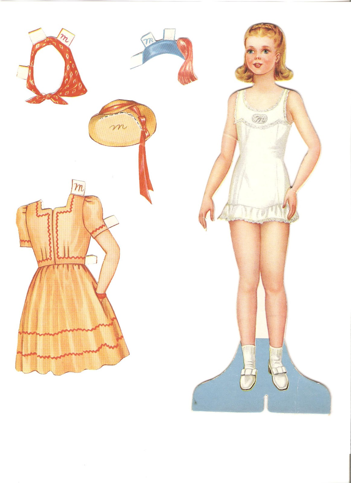 Miss Missy Paper Dolls: November 2012
