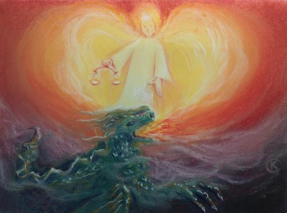 Sint-Michael en de draak