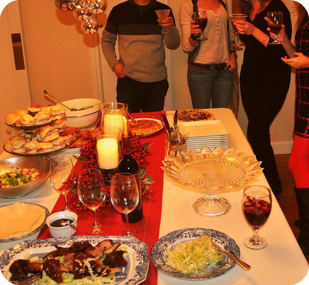 Mademoiselle a christmas spirit 4 ou mon repas de noel au boulot - Repas de noel a congeler ...