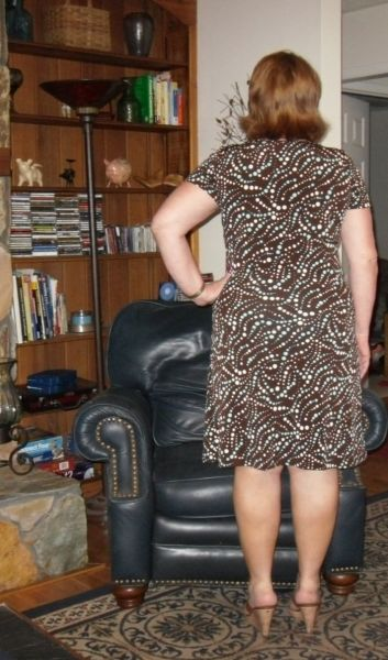 and Two  Month Dress The long runner too table Stitches Seams:
