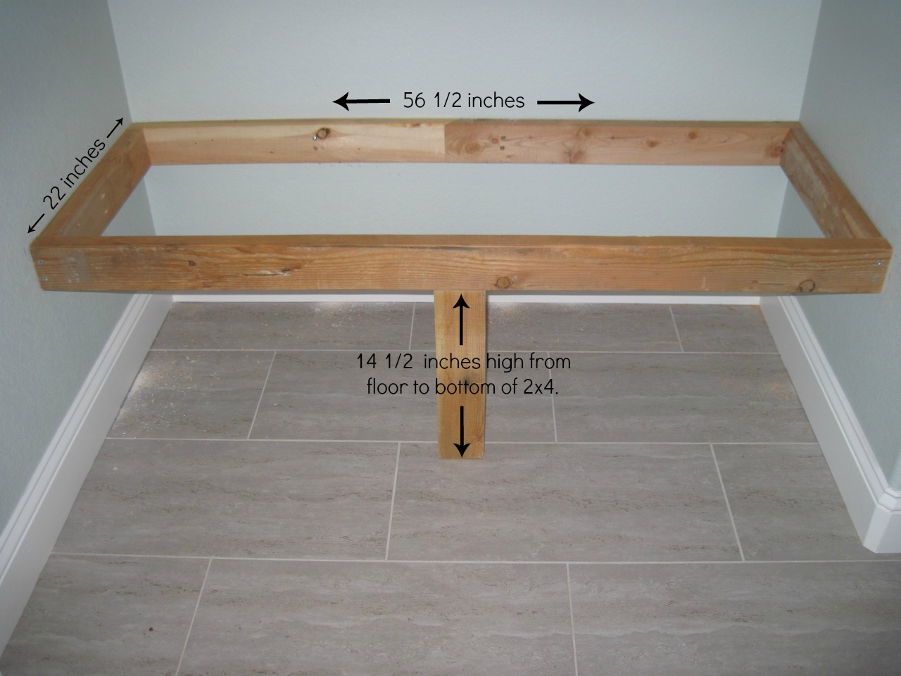 Woodwork Built In Bench Plans PDF Plans